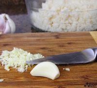 Salmón al pimentón con falso cuscús de coliflor