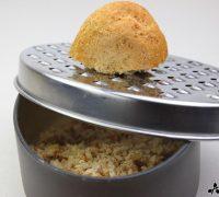 Espaguetis de calabacín con migas (2)