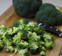 Crema de brócoli y manzana (2)