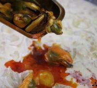 Pasta con salsa de mejillones (4)