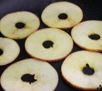 Milhojas de manzana con codorniz en escabeche (2)