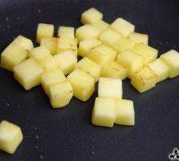 Pak choi en salsa de manzana (4)