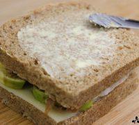 Sándwich de jamón, higo y queso (5)