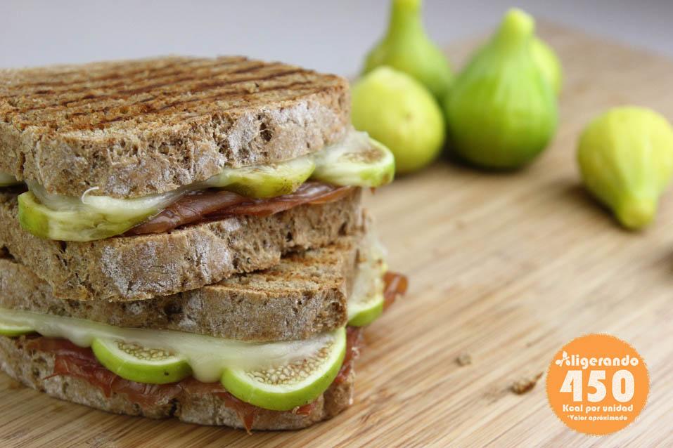 Sándwich de jamón, higo y queso, higo, queso, jamón, sándwich, recipe, receta, recipes, recetas, cocina ligera, receta con número de calorías, calorías, receta calorías, cocina sana, receta sana, receta rica y sana, rico, sano, saludable, healthy, healthy food, receta light, light, receta saludable, receta fácil, adelgazar, adelgazar comiendo, comida real, real food, receta rápida, receta paso a paso, receta baja en grasa, receta baja en calorías.
