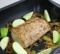 Lomo de cerdo con manzana (2)