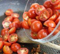 Pasta en salsa de tomatitos cherry (5)
