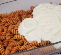 Pasta gratinada con bechamel de coliflor (5)