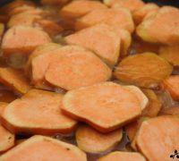 Boniato glaseado con manzana (5)