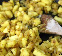 Lentejas al curry con manzana (5)