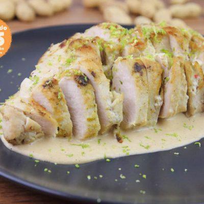 Pollo en salsa de cacahuetes, receta pollo, pollo, receta cacahuetes, cacahuetes, pollo cacahuetes, chile rojo, aligerando, restando calorías, recipe, receta, recipes, recetas, cocina ligera, receta con número de calorías, calorías, receta calorías, cocina sana, receta sana, receta rica y sana, rico, sano, saludable, healthy, healthy food, receta light, light, receta saludable, receta fácil, adelgazar, adelgazar comiendo, comida real, real food, receta rápida, receta paso a paso, sin lactosa, sin gluten, gluten free, receta baja en calorías, receta tupper, receta táper, tupper, táper, receta para dos, para 2, para perder peso, recetas perder peso, receta perder peso.