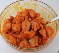 Pollo al pimentón con bechamel de coliflor (5)